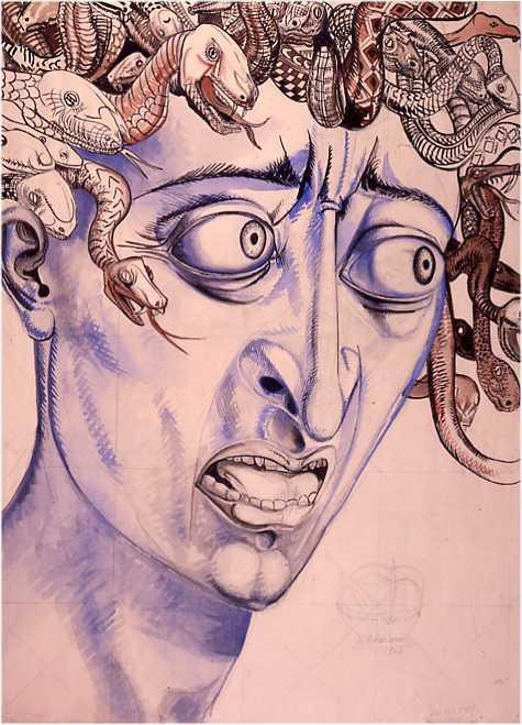 Etude pour le radeau de la Méduse - Alfred Courmes
