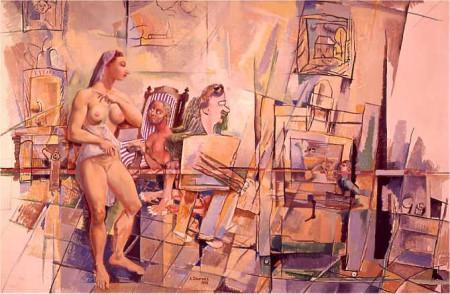 58 Autoportrait du peintre hui195889.jpg