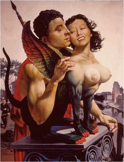59 Oedipe et le Sphinx hui195934 .jpg