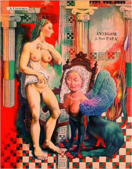 73 Antigone et son papa hui1973101.jpg