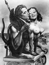 59 Oedipe et le Sphinx en noir et blanc hui1959401.jpg